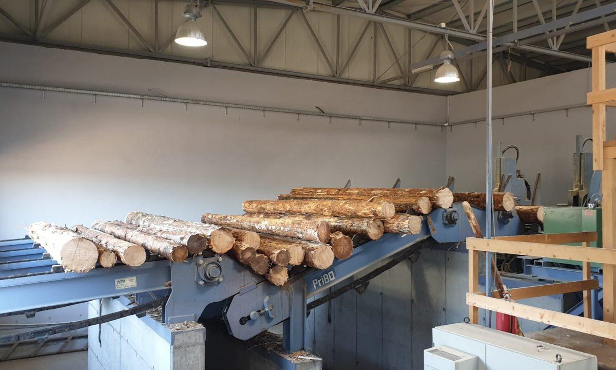 Procesul de prelucrare a lemnului